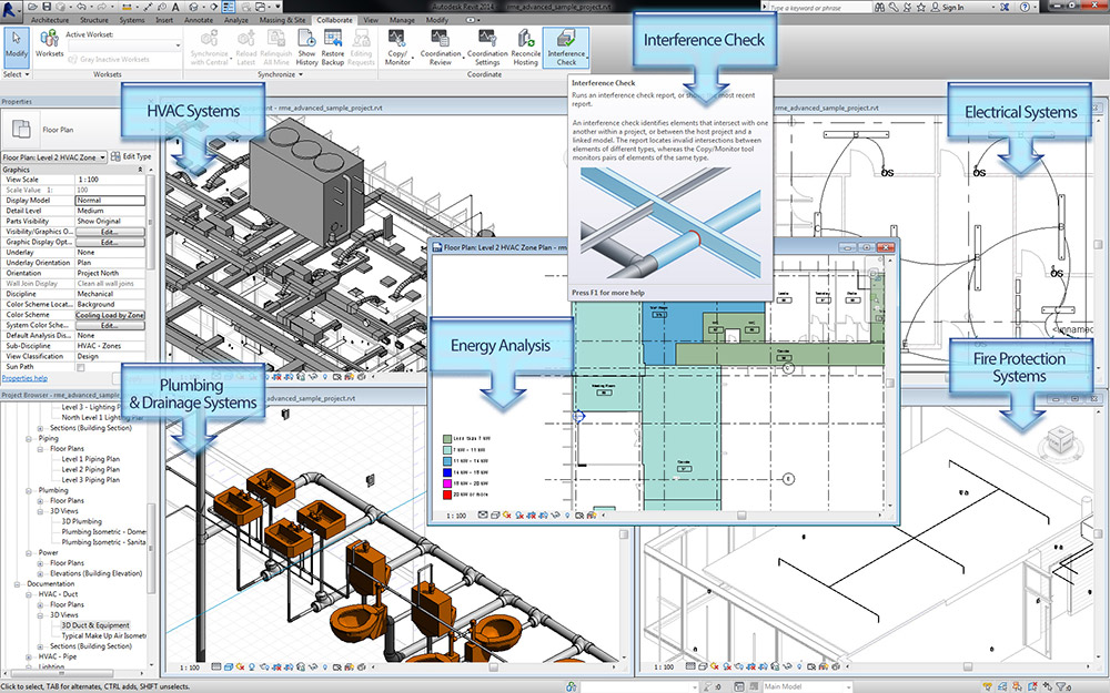 Revit mep course advanced certificate in revit mep for Building layout software free