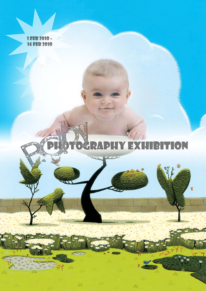 Baby Photography Exihibition